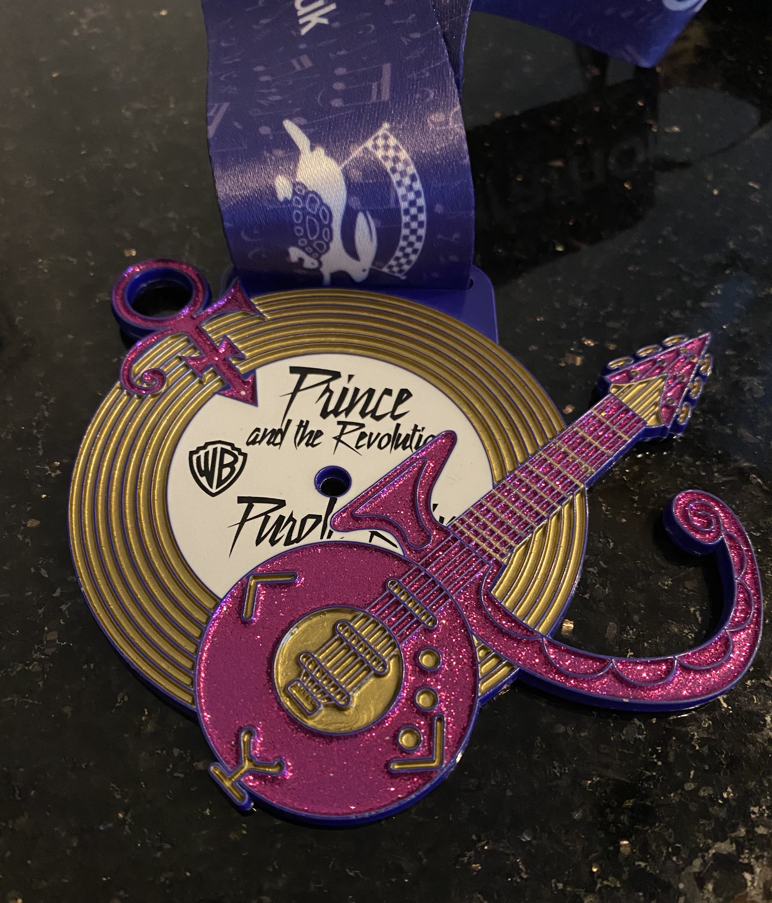 Purple Rayne (double sided) medal